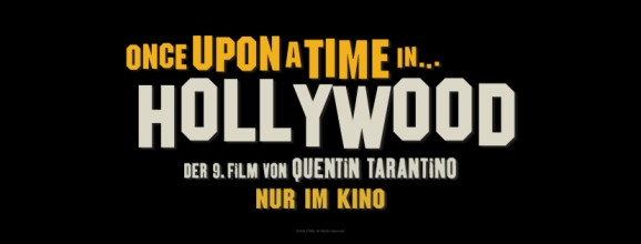 Once Upon a Time in Hollywood-Header Kinostart DE