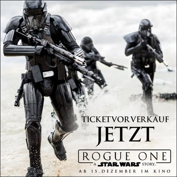 Vorverkauf Rogue One