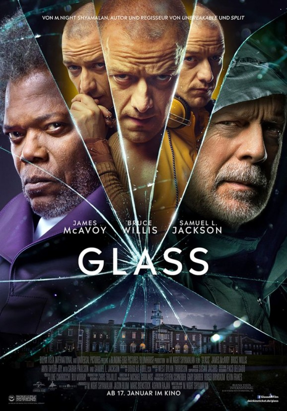 Glass-Plakat