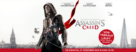 Assassins creed header kinostart DE