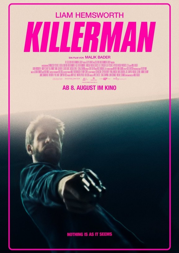 Killerman Filmposter US