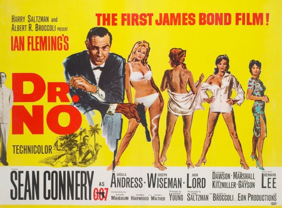 Dr No Proo Poster 1962