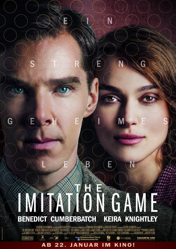 the imitation Game Hauptplakat