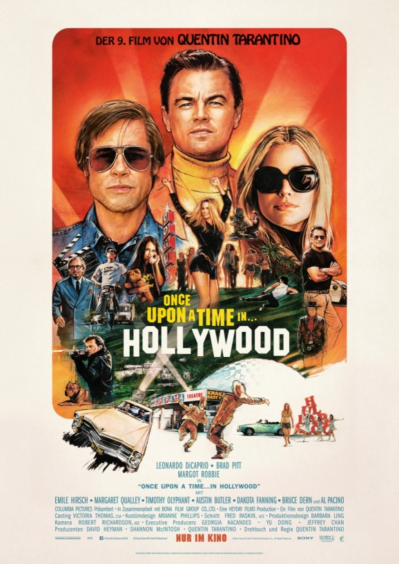 Once Upon a Time in Hollywood-Plakat