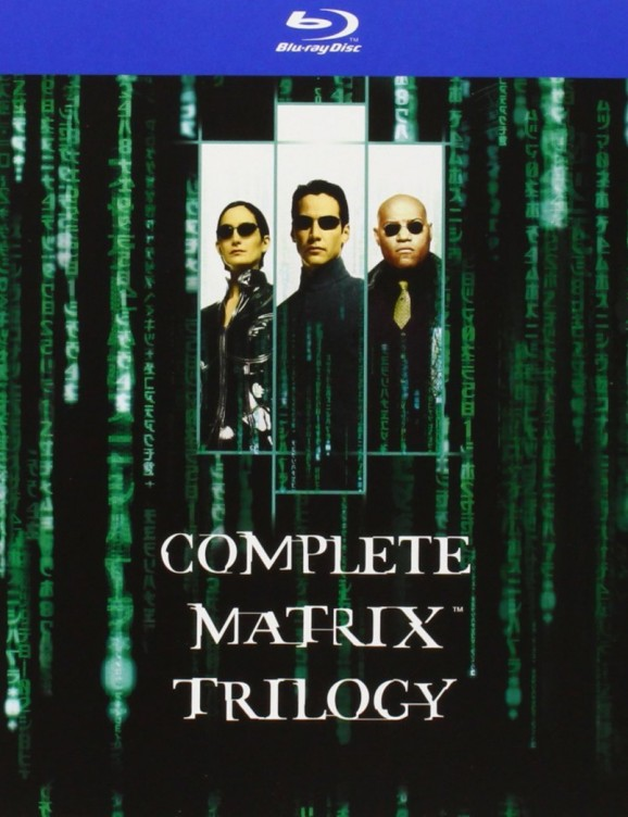 matrix trilogie blu-ray